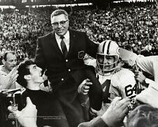 VINCE LOMBARDI Super Bowl II (1968) Green Bay Packers Premium POSTER Print