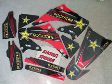F X  TEAM ROCKSTAR  GRAPHICS  HONDA CR125 CR250 CR125R CR250R  2002-2008