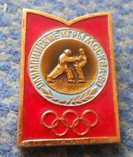 OLYMPIC MOSCOW 1980 JUDO PIN BADGE