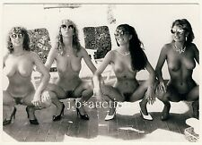 Germany NUDE BEAUTY CONTEST ? NACKTE MISSWAHL * Vintage 1970s Erotic Photo #3