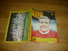 SOCCER Star Magazine  QPR & Ian St John LIVERPOOL cover pictures 23/08/68