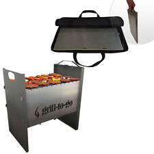The Portable Easy And Fast Assembly / Disassembly Charcoal Grill BBQ Barbecue