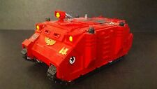 Warhammer 40K Space Marines Plastic Painted Rhino Missing Weapon