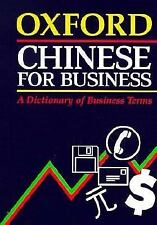 Oxford Chinese for Business: A Dictionary of Business Terms, , Good Book