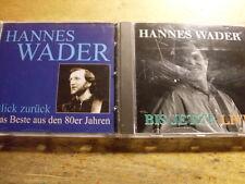 Hannes Wader [2 CD Alben] Blick Zurück + Bis Jetzt Live