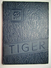 Old Vintage 1940 Beaver Falls Pa High School Yearbook - TIGER - Look at Preview