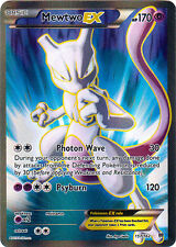 1x Mewtwo-EX - 157/162 - Full Art Ultra Rare NM-Mint Pokemon XY - Breakthrough