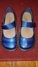 INGARO DINAH 7.5 M BLUE  MARY JANE CLOGS