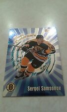 1998-99 Bowman's Best Best Performers Sergei Samsonov Card  BP2 - 1700 In Store