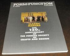 Form Function Finland Classic Makers 1995
