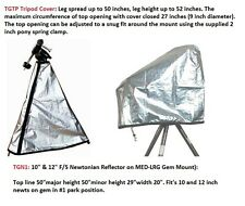 "Telescope/Tripod Cover Set for 10""-12"" Reflector EQ Mount set up ( 2 cover set)"