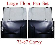 73 87 LARGE Floor Pan Set W Backing Plate Fits Chevy GMC Truck Blazer, Suburban