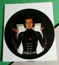RESIDENT EVIL MILLA JOVOVICH ALICE 2 GUNS LEATHER OUTFIT MOVIE GET GLUE STICKER