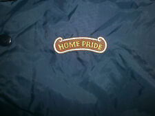 HOME PRIDE BREAD JACKET Nylon vtg Aristo Jac Windbreaker Blue Embroidered Logo L