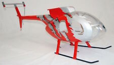 MD 500 E Voll GFK-Rumpf 500er Heli Jive RED, T-Rex CopterX fuselage BladeHughes
