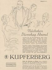 Y5090 KUPFERBERG Gold - Pubblicità d'epoca - 1929 Old advertising
