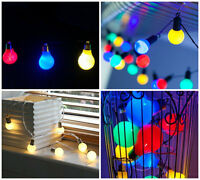 LED FESTOON GLOBE BULB INDOOR OUTDOOR GARDEN FAIRY STRING WEDDING PARTY LIGHTS