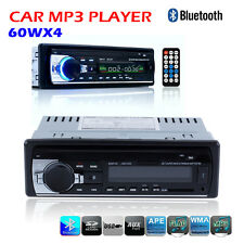Car Radio Bluetooth 1 DIN In Dash 12V SD/USB IPOD Aux Input FM Stereo Head Unit