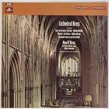 CATHEDRAL BRASS: Men O' Brass COLUMBIA Studio 2 Stereo EXCELLENT SONICS Vinyl LP