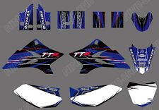 TEAM  GRAPHICS BACKGROUNDS DECALS for YAMAHA TTR50 2006-2015 07
