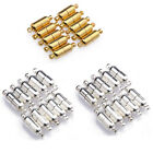 10x Sets Silver Gold Plated Oval Magnetic Clasps Connectors For Jewelry Making