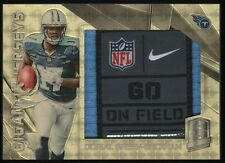 2015 Dorial Green-Beckham Panini Spectra Gigantic Gold Laundry Tag Patch 1/1 RC