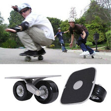 Pair Portable Freeline Drift Board Parts Skate Wheels Outdoor Sporting