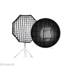 80cm 31.5in Octagon Umbrella Softbox Brolly Reflector for Speedlite Flash Light