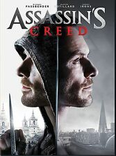 Assassins Creed ( DVD 2016 ) NEW* Action, Fantasy* NOW SHIPPING !!!!!!