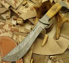Paul Walker 1-OF-A-KIND RARE CUSTOM DAMASCUS HUNTING KNIFE | SKINNER KNIFE