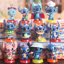 12 Lilo & Stitch Action Figures Kid Display Figurines Set Cake Topper Decor Toy