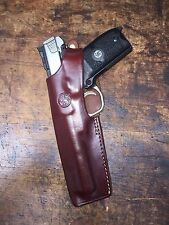 """Smith & Wesson LEFT HAND Model 41, S&W Victory SW22 5.5"""" barrel holster #9180"""