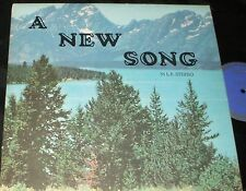 THE MESSENGERS A New Song LP PRIVATE ST. PAUL MN XIAN GOSPEL FOLK ACCORDION
