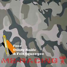 "*24""x60"" Large Army CAMO Camouflage Desert Vinyl Sticker Wrap Decal Steet"