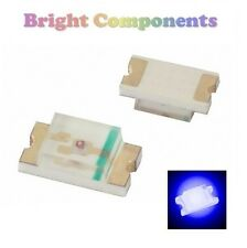 10 x 0805 Blue LED (SMD) - Ultra Bright - UK - 1st CLASS POST