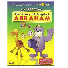 THE STORY OF PROPHET ABRAHAM WITH ZAKY ISLAMIC CHILDREN CARTOON DVD EID GIFT