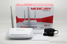 New Mercury MW300R Wireless Router Wi-Fi Wireless N 300Mbps 4-PORT 10/100 Switch