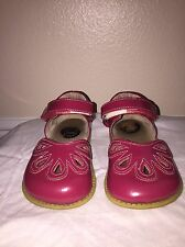 Girls Livie and Luca Size 10 Watermelon Petals Shoes
