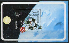 Kampuchea 1988 SG#MS906 Space Exploration Cto Used M/S #A96222