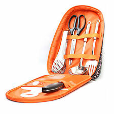 Camp Outdoor INDI Kitchen Tool SET 8P Camping Utensils Set Cooking Tools For BBQ