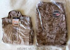 NWT USMC Desert Digital Frog Shirt and Frog Pants COMBO Size: MEDIUM REGULAR