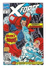 X-FORCE 10 (NM+) 6th APPEARANCE of DEADPOOL (FREE SHIPPING) WEAPON X*