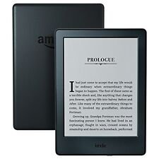"New Amazon Kindle 8th Gen Black 6"" 4GB Touchscreen Glare-Free Wi-Fi E-Reader"