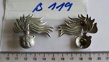 Italia Berretti distintivo prima d'argento... in metallo con IR 2 pezzi (b119) je4, 25