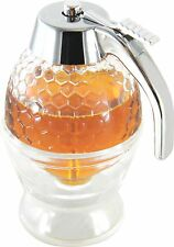 Cookbuyer Handmade Glass Non Drip Honey Syrup Dispenser, 200ml CB-HP-000001