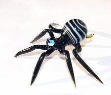 ART GLASS Lampwork Murano Spider Handmade Gift Collectible Figurine animals