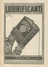 Y0215 Lubrificanti per automobili Shell - Pubblicità d'epoca - Advertising