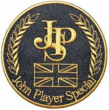 """John Player Special 3"""" Logo Sew Ironed On Badge Embroidery Applique Patch"""