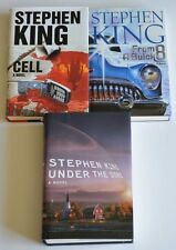 Lot of 3 LIKE NEW Stephen King horror books