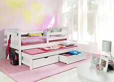 NEW BED BUNK    WOODEN CAPTAINS BED/GUEST BED/BUNK BEDS/BED WITH TRUNDLE
